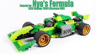 Tutorial for Nya's Formula - LEGO Ninjago 70641 Alternate MOC