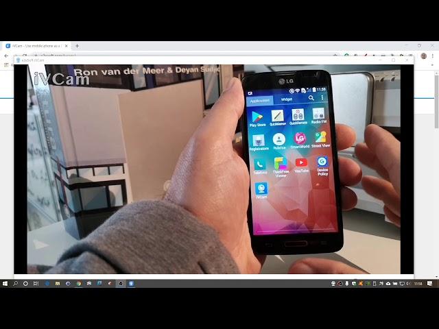 Riutilizzo di un vecchio cellulare come webcam a costo zero.