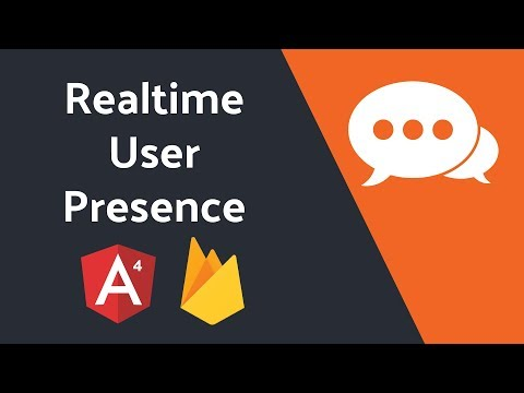 User Presence System in Realtime - Online, Offline, Away