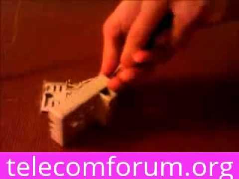 Установка телефонной розетки своими руками