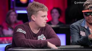 2016 WSOP Main Event:  Vojtech Ruzicka Eliminated in 5th Place ($1,935,288)