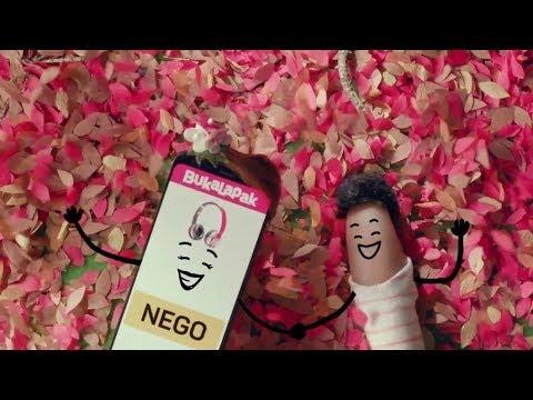 Iklan Bukalapak - Cinta Nego ver. JNE Gratis Ongkos Kirim 60sec (2017)