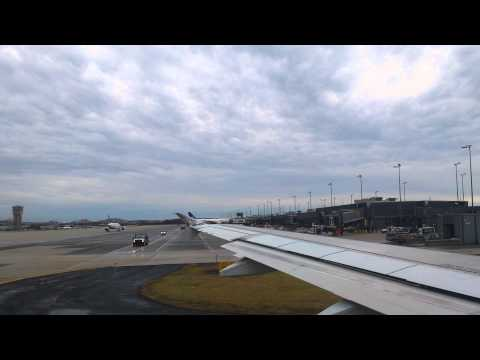 Engine Start, Taxi, and Takeoff from Washington Dulles