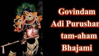 Govindam Adi Purusham - Srimathumitha