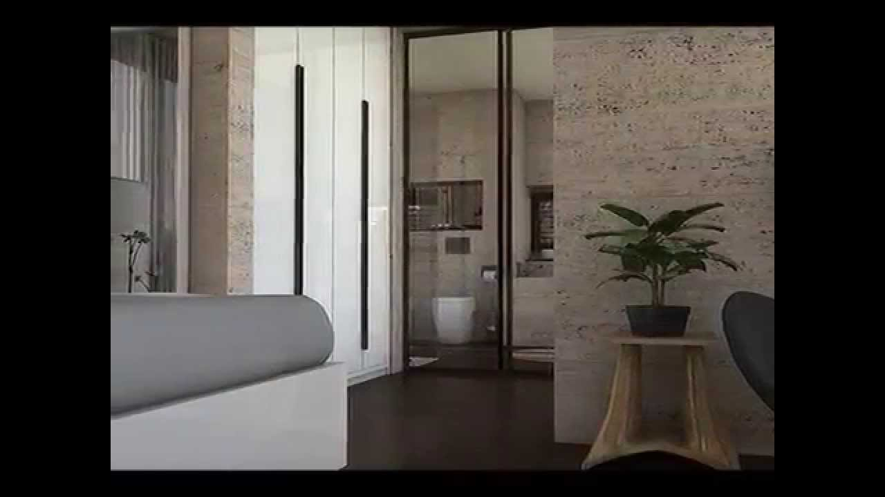 Dise o interior decoraci n habitaci n hotel youtube for Decoracion habitacion