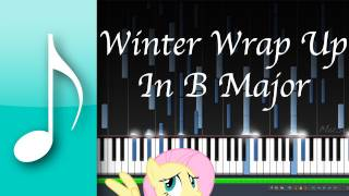 Winter Wrap Up Piano Suite in B Major (Synthesia/Garageband)