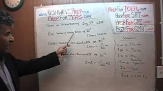 TEAS V, Math Day 37, p87, p88, Units of Measurement, Nursing Online Test Prep Tutor GRE, GMAT, SAT