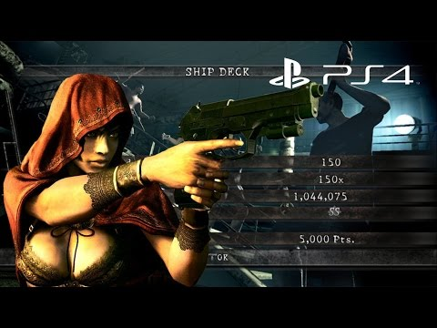 Ship Deck Solo 1,044,075 Sheva Fairy Tale | Resident Evil 5 PS4 Mercenaries United HD
