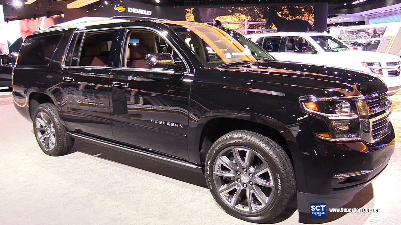 2018 Chevrolet Suburban Premier - Exterior and Interior ...