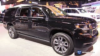 2018 Chevrolet Suburban Premier - Exterior and Interior Walkaround - 2018 Detroit Auto Show