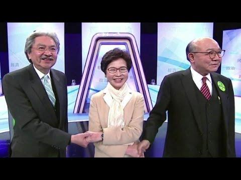 Joshua Wong on the Hong Kong Chief Executive race