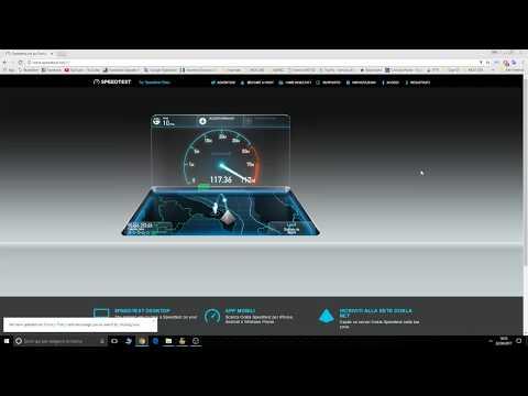 Tim Fibra 200 Mega Taranto speedtest
