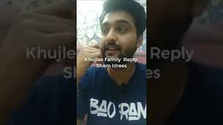 #2 ON TRENDING  Khujlee Family Reply To Sham Idrees Roast