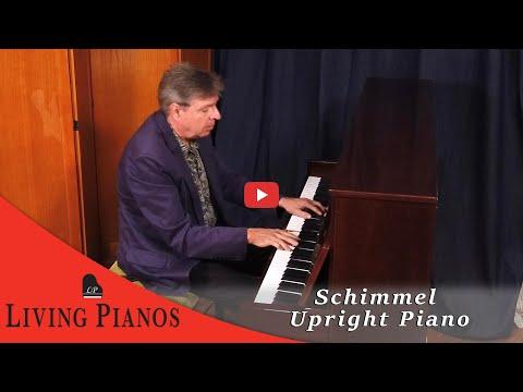 Schimmel Upright Piano - LivingPianos.com