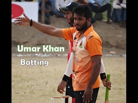 Umar khan Batting in JPL Tennis Cricket Tournament
