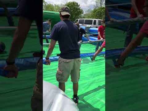 Human Foosball Video