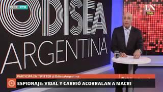Carlos Pagni: Espionaje; Vidal y Carrió acorralan a Macri - Editorial — Odisea Argentina