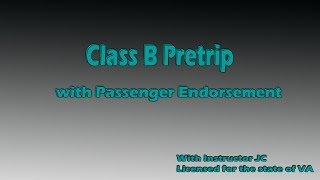 *Class B Pre-Trip & In-Cab Inspection SHIPPERS CHOICE (Class B with P for Bus Inspection)