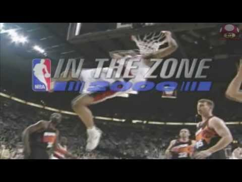NBA in the Zone 2000 (Playstation): Intro