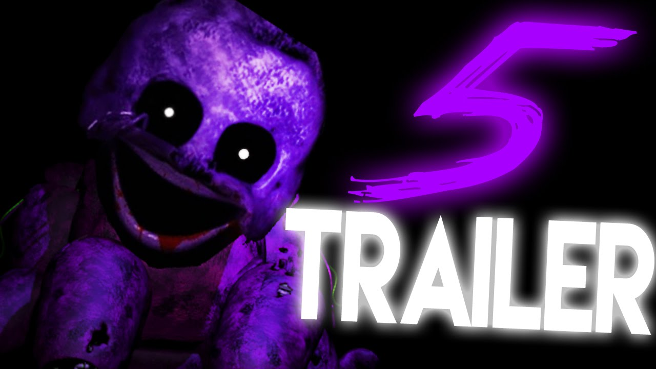 fnaf 5 trailer five nights at freddys 5 teaser fnaf 5 gameplay