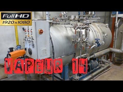 Vapeur14-Présentation d'une chaufferie vapeur -  chaudières vapeur 2 x 665kg/h