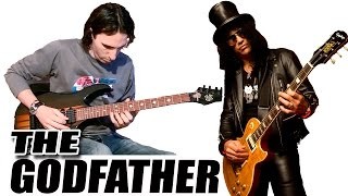 Como Tocar El Padrino (Slash) en Guitarra Eléctrica (The Godfather) TCDG