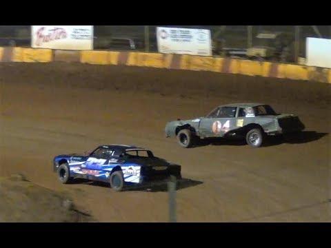Street Stock Main #04 Tardio vs. #3:3 Case- @ Sunset Speedway 2018