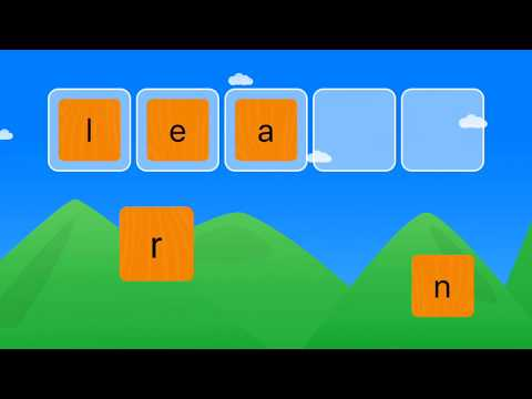 Sight Words and Spelling Games—Colorful and Engaging iPad Activities