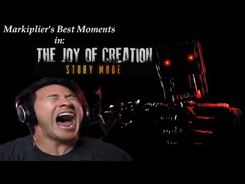 "Markiplier's Best Moments in: ""The Joy of Creation: Story Mode"""