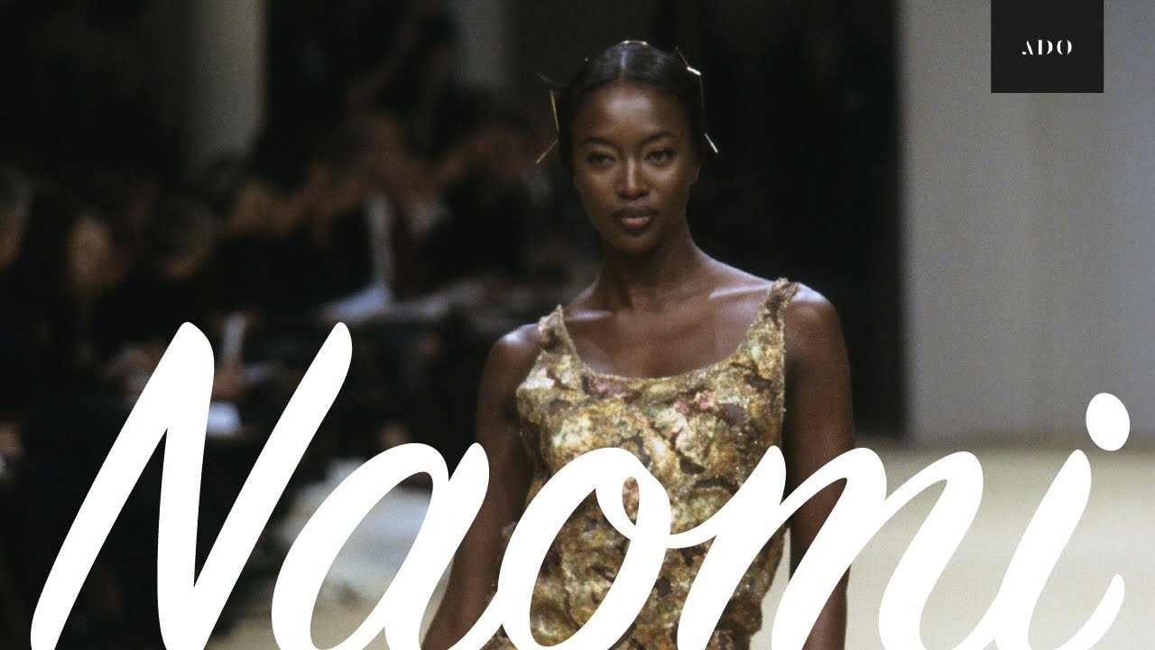 Naomi Campbell   Runway Collection   Then & Now