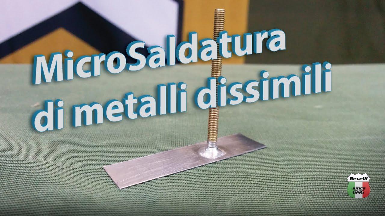 microsaldatura di ottone rame inox castolin 157 youtube