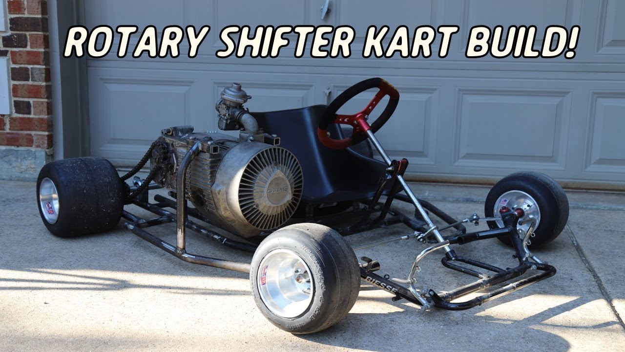 Rotary Shifter Kart Build Part 2 | Rolling Frame!