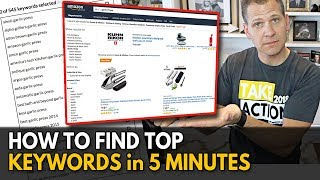 How To Find Top Keywords for Amazon FBA to Rank (5 Minute Strategy)