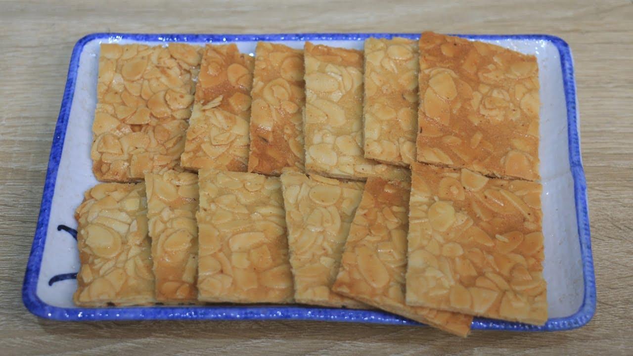 Bếp Mẹ Tôm hướng dẫn làm BÁNH HẠNH NHÂN cực ngon cho ngày tết