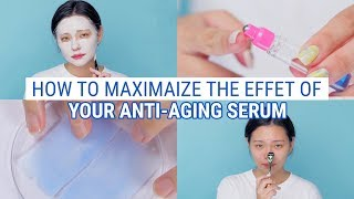 4 Ways To Double The Effect of Your Anti aging Serum | Smart Using Tips for Blue Drop