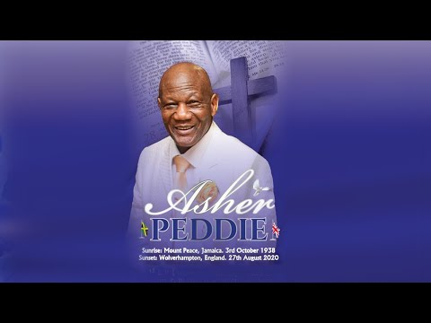 Home-going Service For Mr Asher Peddie