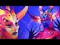 👽 neon alien top 15 nyx faceawards brasil