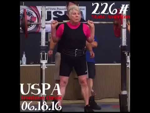 Great Grandma's First Powerlifting Competition