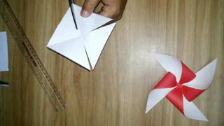 DIY How to make Paper Toy Windmill