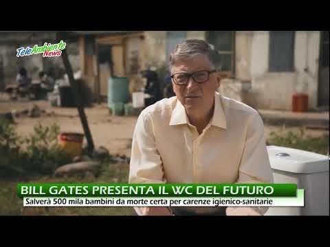 Bill Gates Presenta Il Wc Del Futuro Youtube
