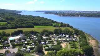 Vidéo aérienne du Camping Saint Jean