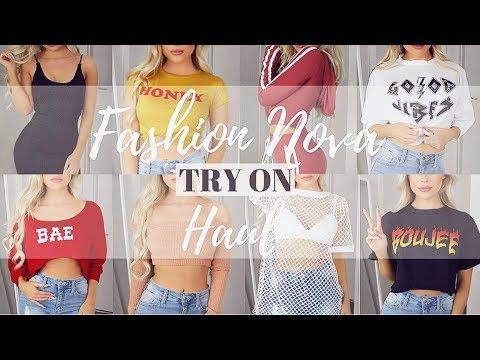 FASHION NOVA TRY ON HAUL.. $300 WORTH OF CLOTHES?!   KASEY RAYTON