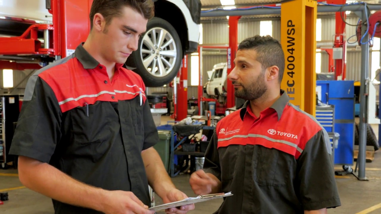Service your toyota at new town toyota