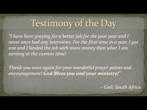 Prayer Bullets -Elisha Goodman - YouTube