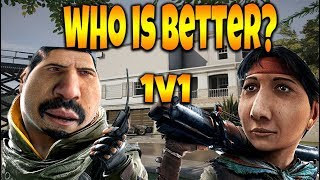 1v1 With *NEW* OPERATORS! - Rainbow Six Siege Ember Rise