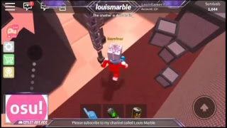 Roblox The CrusheR live stream, Come and Join, let's have some fun. Golden Survivor Level 40