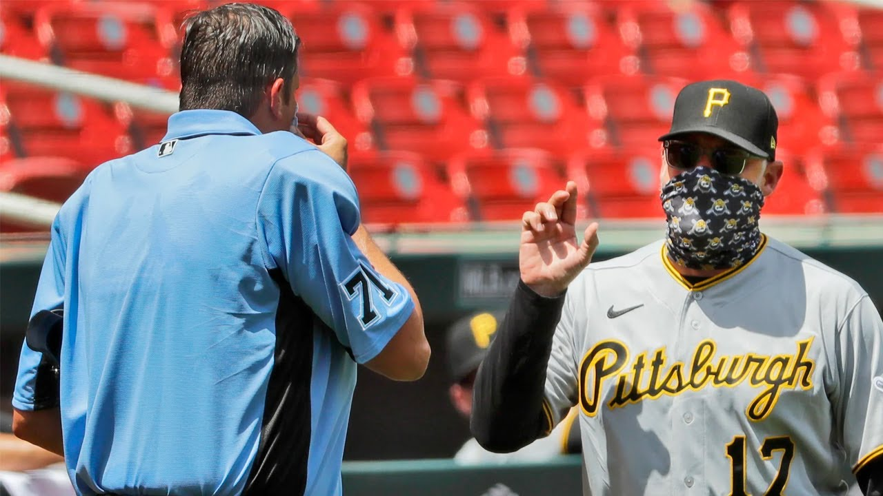 Major League Baseball's First Social Distancing Ejection ⚾