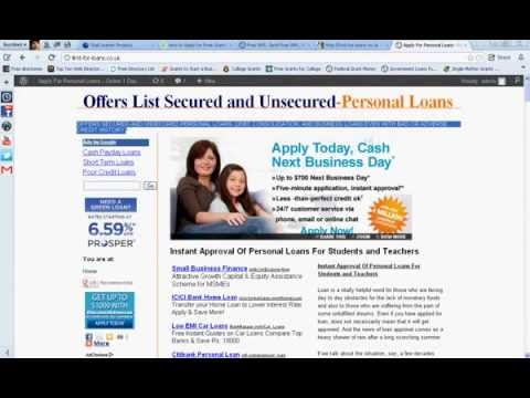 I have a bad credit score. Can I get a debt consolidation loan? from YouTube · Duration:  1 minutes 14 seconds