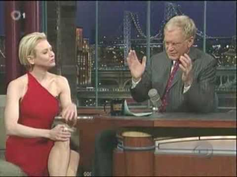 Renee Zellweger on Letterman08