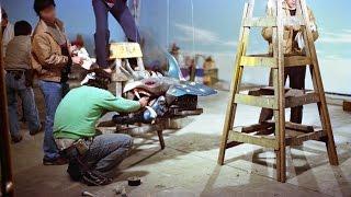 ダイナマン特撮風景 ダイジュピター対グランギズモ 1983年フジカシング...